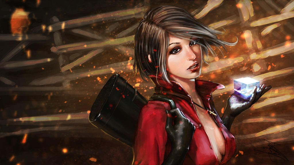 Скачать скин Ada Wong (Ада Вонг) из Resident Evil для CS:GO (Модель на игрока)
