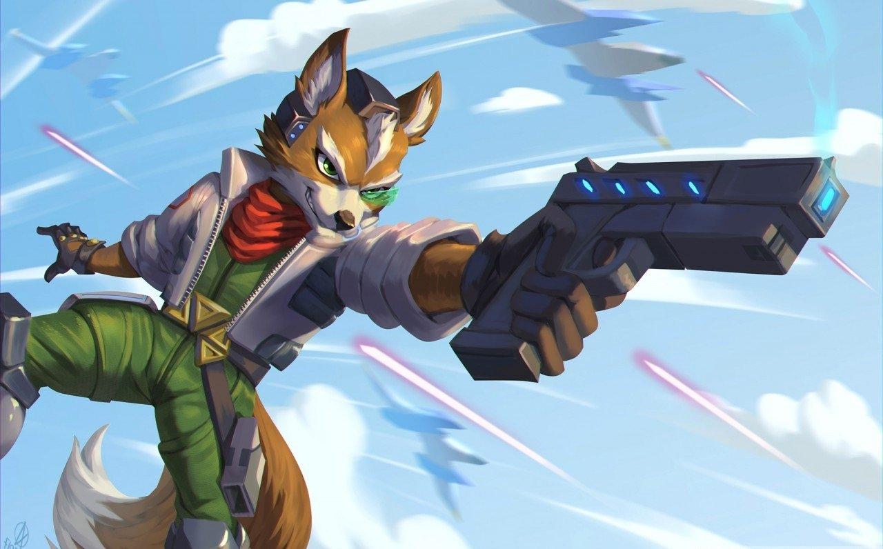 Скачать скин Star Fox (Фокс МакКлауд) для CS:GO (Модель на игрока)