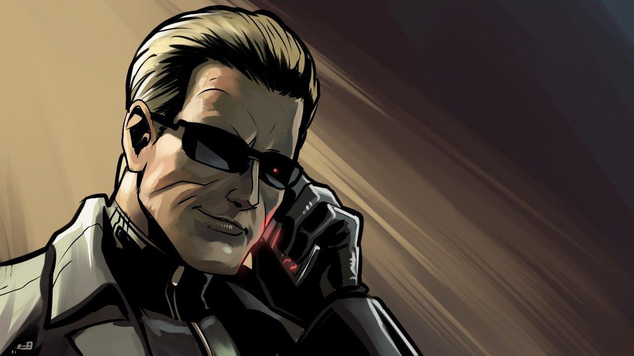 Скачать скин Альберта Вескер (Albert Wesker) из Resident Evil для CS:GO (Модель на игрока)