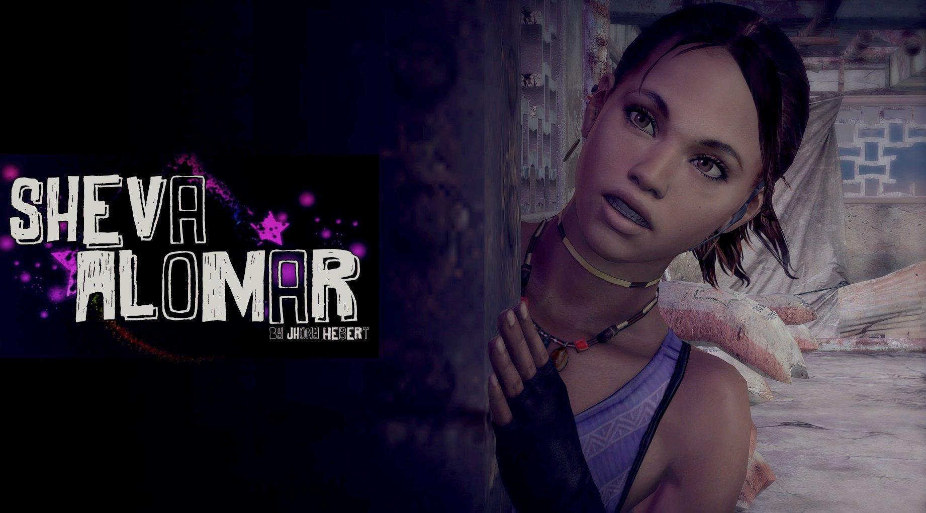Скачать скин Шевы Аломар (Sheva Alomar) для CS:GO (Модель девушки на игрока)