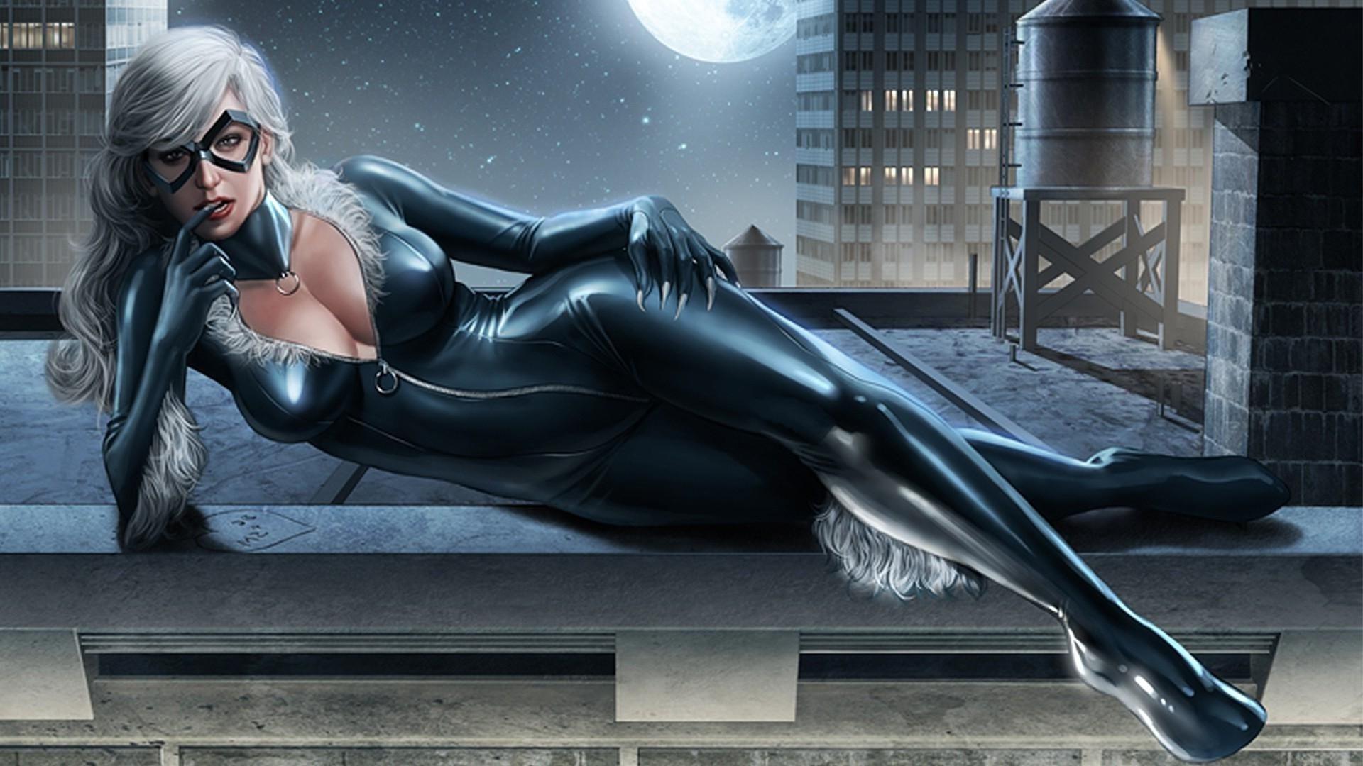 Скачать скин Черной кошки (Black Cat, Marvel) для CS:GO (Модель персонажей на игрока)