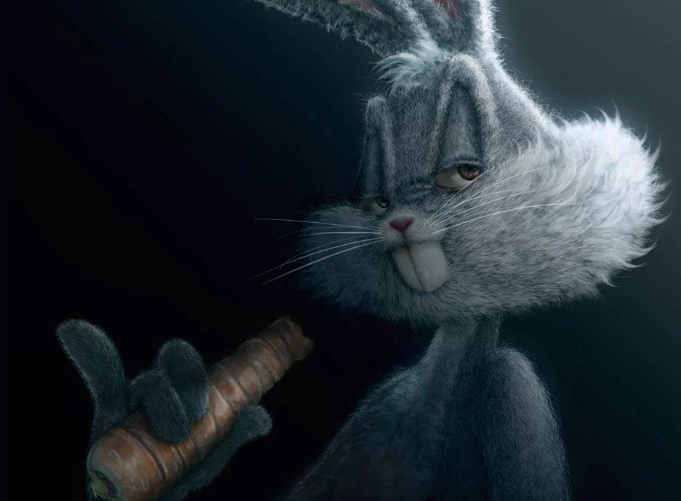 злой кролик картинки прикол слез стихи день