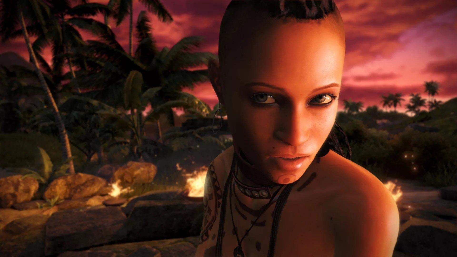 Скачать скин Цитры Талугмай из Far Cry 3 для CS:GO (Модель девушки на игрока)